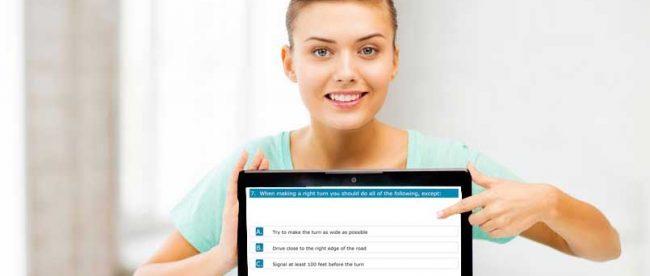 New York DMV License and Permit Test at FreeDMVTest.com - copyright: dolgachov / 123RF Stock Photo