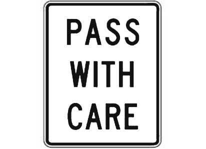 Road signs cheat sheet – 20