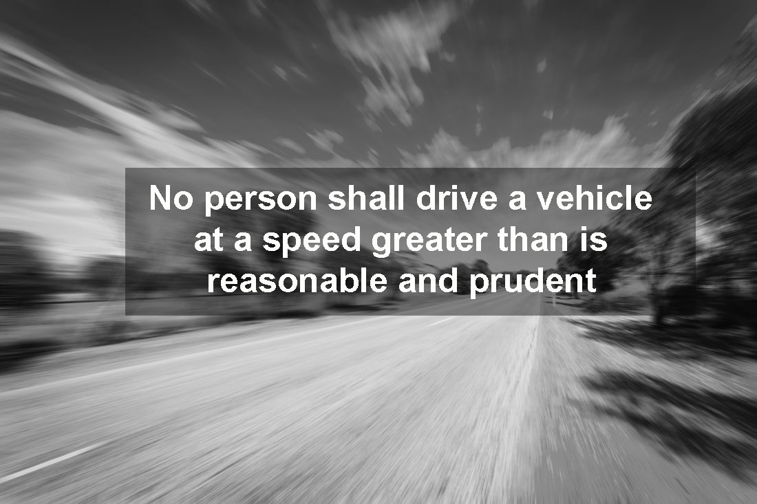 The Basic Speed Law