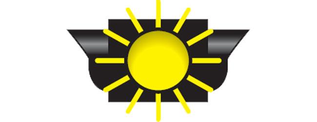 Flashing yellow signal