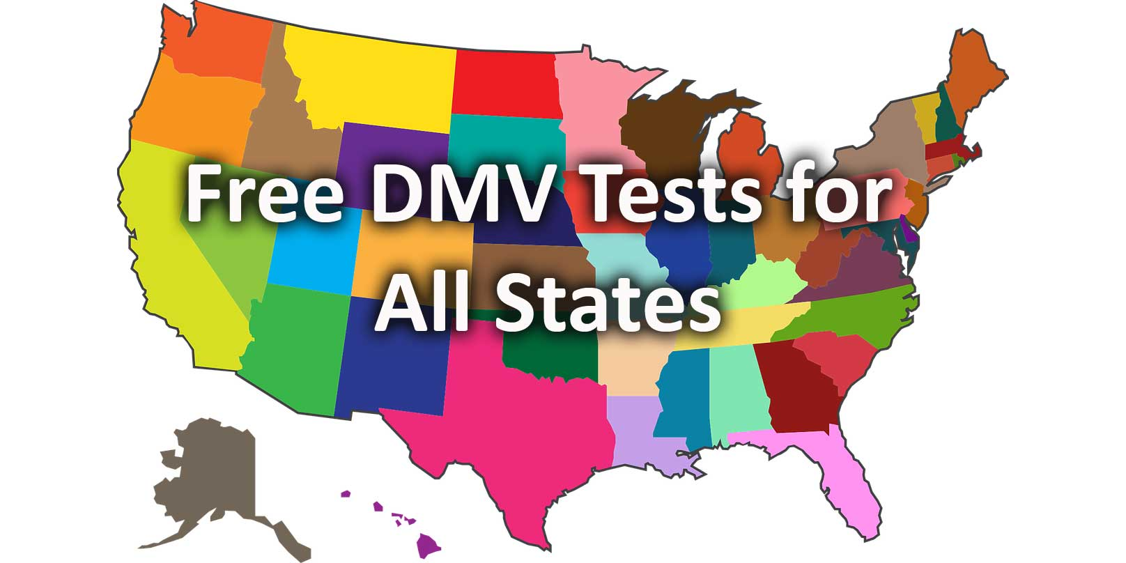 Free DMV Tests for  All States